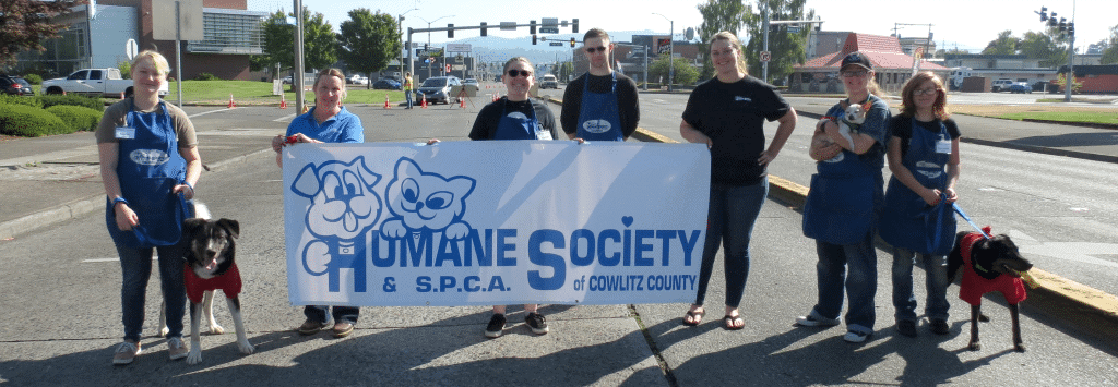"""""""Lara and Jeri were both phenomenal in explaining steps and going above and beyond for our organization."""" Charmaine Nawrocki, Executive Director, Humane Society of Cowlitz County."""