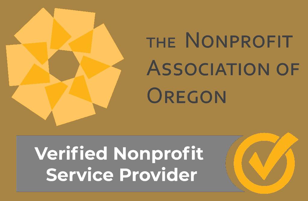 NAO verified nonprofit service provider